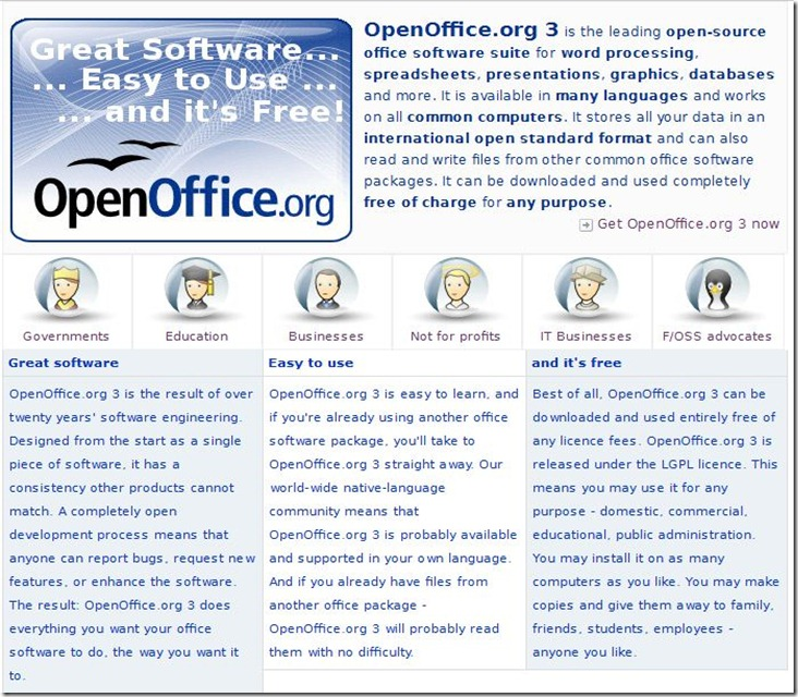 Download Open Office org & support it if you can    Hamro